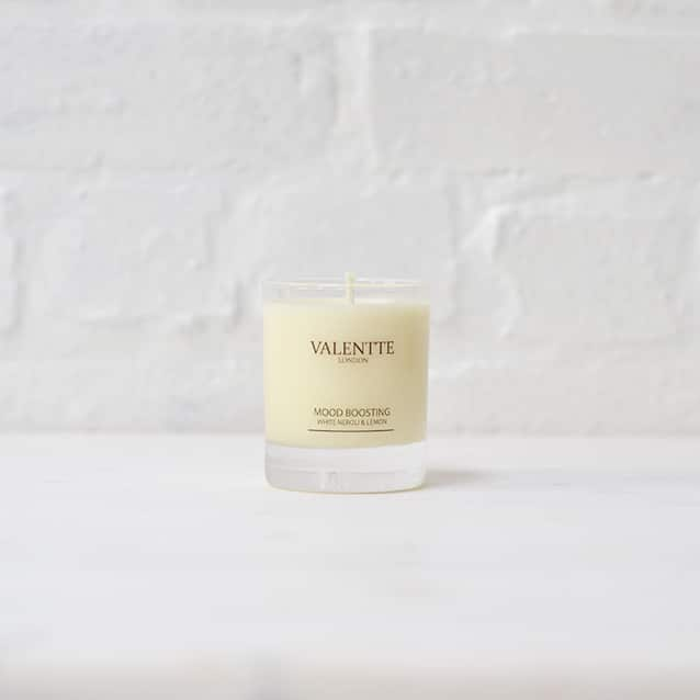 White Neroli And Lemon Soy Wax Candle Valentte Com